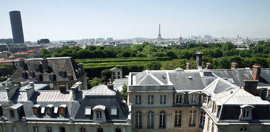 Implantation parisienne de l'école d'ingénieurs - 60, boulevard Saint-Michel.