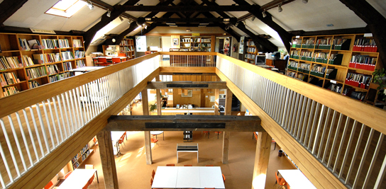 Biblioth�que � Fontainebleau