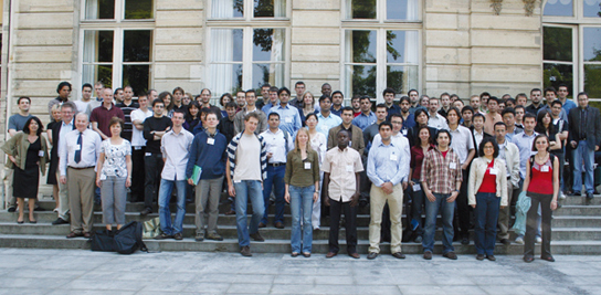 Ensemble des doctorants de MINES ParisTech, 2012