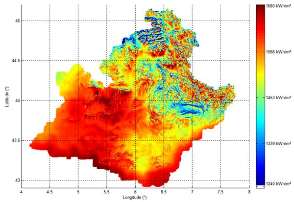 L Atlas Du Gisement Solaire En Rgion Paca Mines Paristech