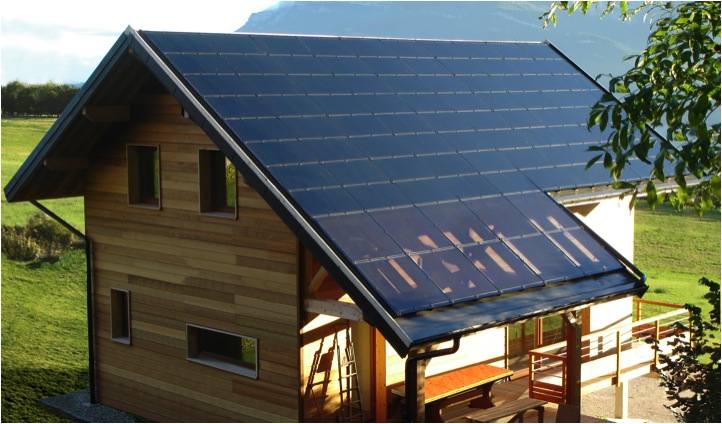 Maison Zéro Energie à Chambéry (Photo Cythelia)