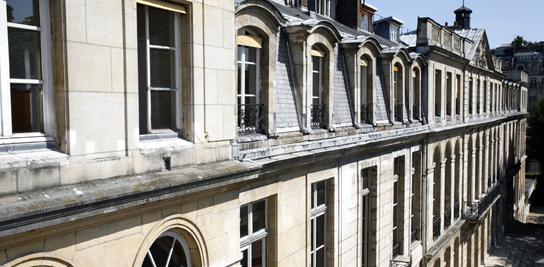 Vue de l'implantation parisienne