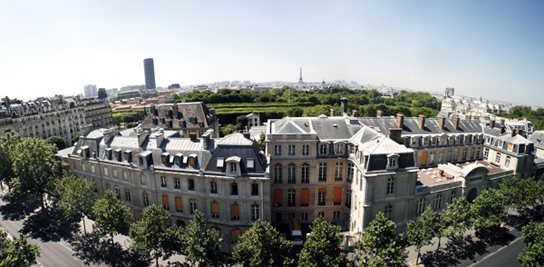 Vue panoramique de MINES ParisTech - 60, boulevard Saint-Michel - Paris
