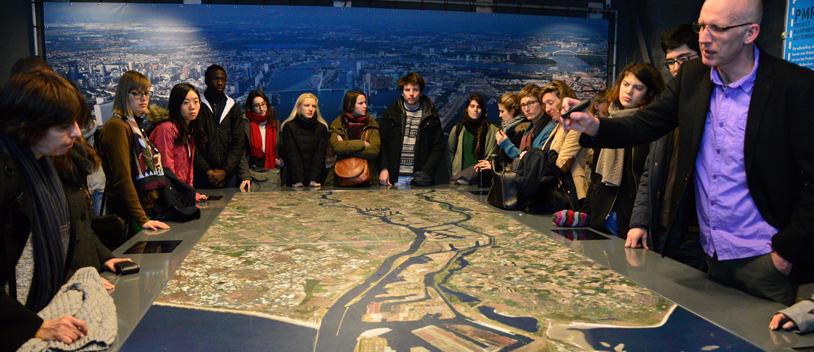 Isige-visite de terrain � Rotterdam