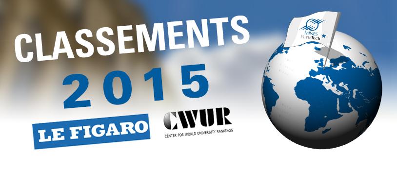Classements 2015