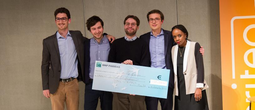 EXPLISEAT, laur�at du premier Prix Entrepreneuriat MINES ParisTech Criteo 2015