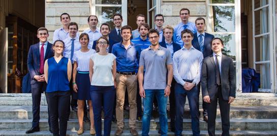 La promotion 2015 des ingénieurs élèves des mines.