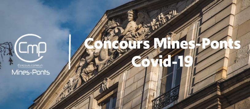 Concours Mines Pont reporté - oraux annulés