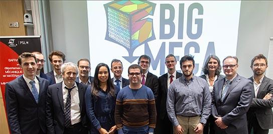 Lancement de la chaire BIGMECA, le 11 décembre 2019 à MINES ParisTech.